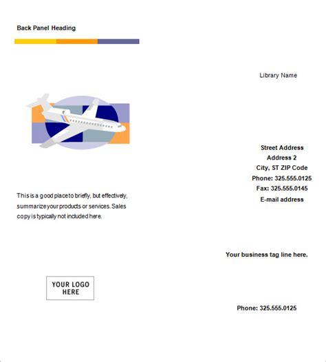 microsoft word tri fold brochure