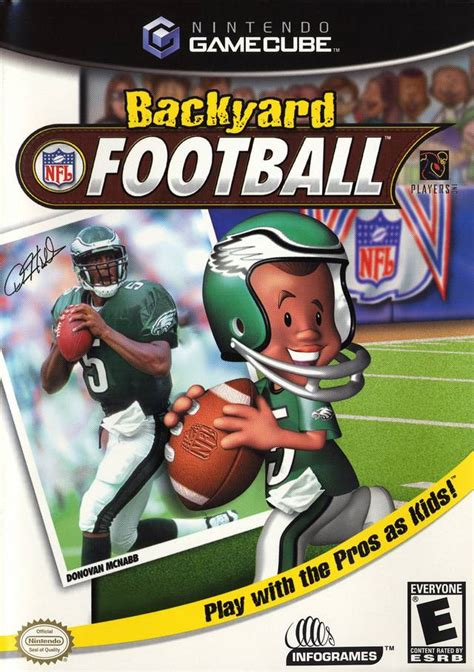 backyard football box for gamecube gamefaqs