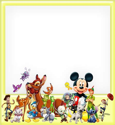 Pinata Ulang Tahun Desain Mickey Mouse By Char Coll character frame psd by anavrin2010 on deviantart