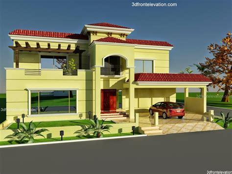 1 kanal house 3d front elevation house design homes 3d pakistan 3d front elevation com 60 x 100 wapda town 1 kanal