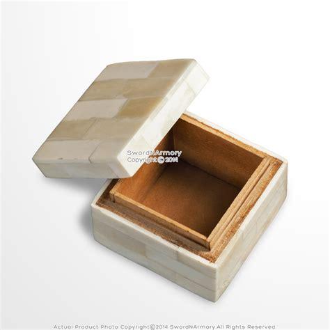 Handmade Trinket Box - handmade renaissance decoration small jewelry