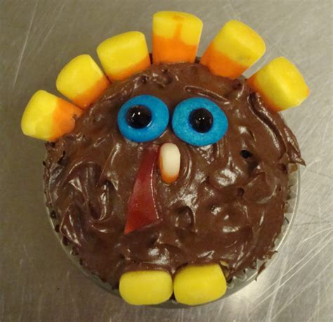 Cupcake Of The Week Gobble Gobble by Just Helen Just When You Thought It Was Safe Just Helen
