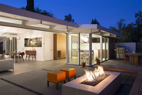 architect eichler truly open eichler house by klopf architecture