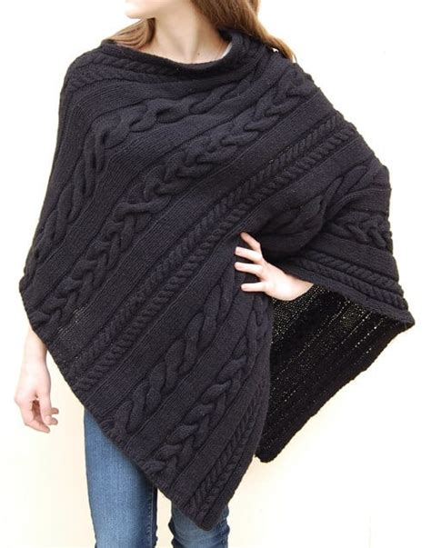 how to knit a poncho for beginners pattern knitted poncho patterns with tutorial for beginners