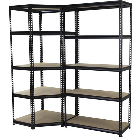 qiq fix 5 shelf corner storage unit i n 2760255 bunnings