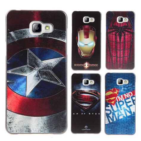 Casing Samsung A7 2015 Captain America 1 Custom Hardcase 3d captain spider tiger back for samsung galaxy a5 a7 2015 a510 a710