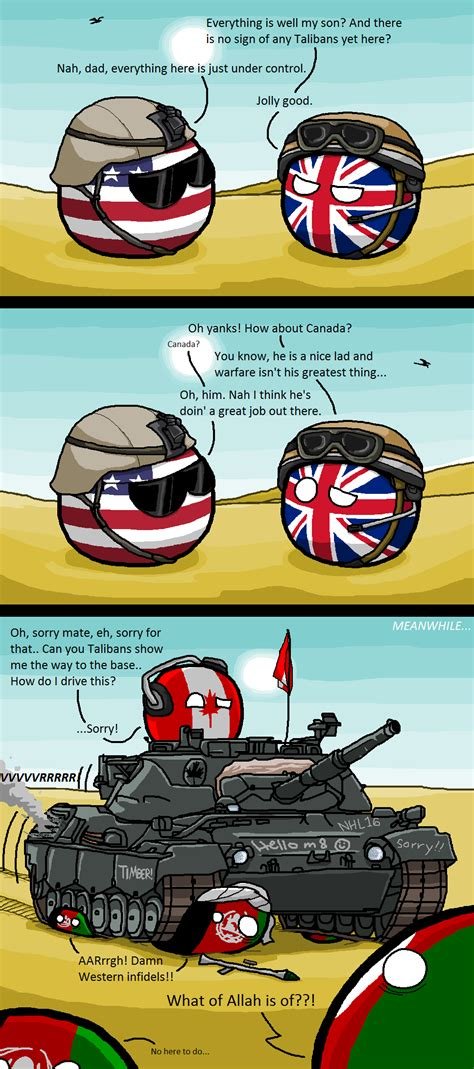 Countryball Meme - canadian reinforcement usa uk canada by kaliningrad