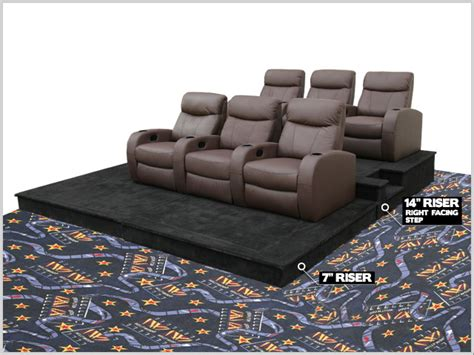 stadium seating couch homemade home cinema furniture home design and decor reviews