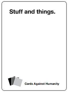 Cards Against Humanity Blank Cards Template by Cards Against Humanity Blank Cards Use To Write Out