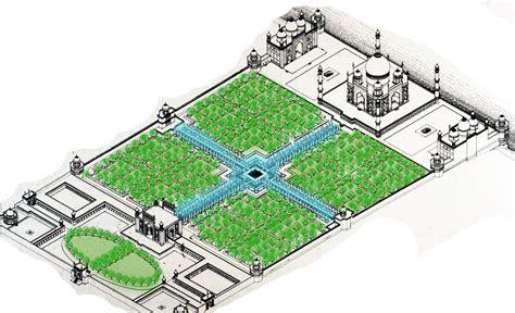 Taj Mahal Garden Layout Garden Ftempo Taj Mahal Garden Layout