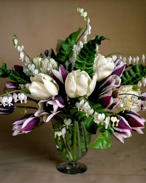 flower arranging tulip arrangements martha stewart