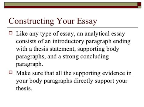 5 Paragraph Literary Analysis Essay Exle by 9 Paragraph Analytical Essay