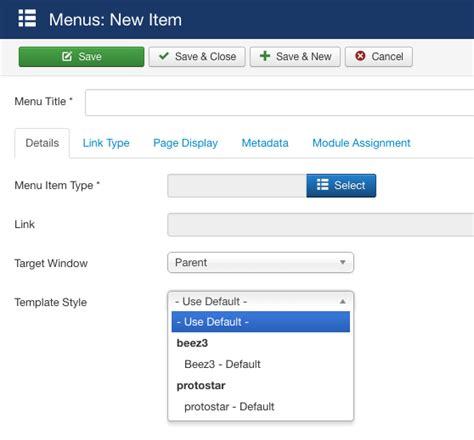 joomla different templates for articles joomla 3 x how to assign different templates to