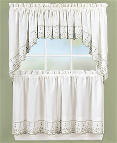 Macys Kitchen Curtains Chf Peri Abby Window Treatment Collection Window Treatments For The Home Macy S