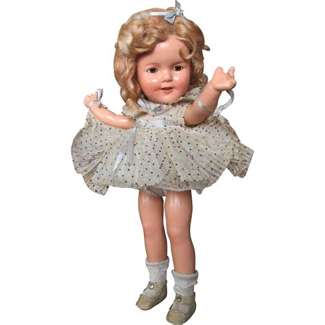 composition doll crazing thank you m 13 quot shirley temple composition doll original