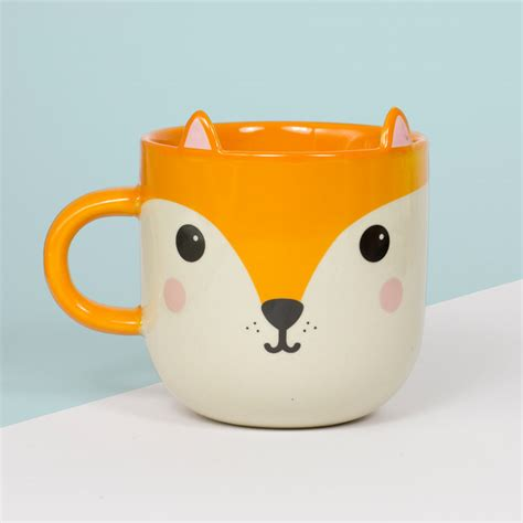 animal mug these animal mugs are so kawaii it hurts