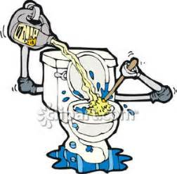 Bathroom Cleaning A Self Cleaning Toilet Royalty Free Clipart Picture