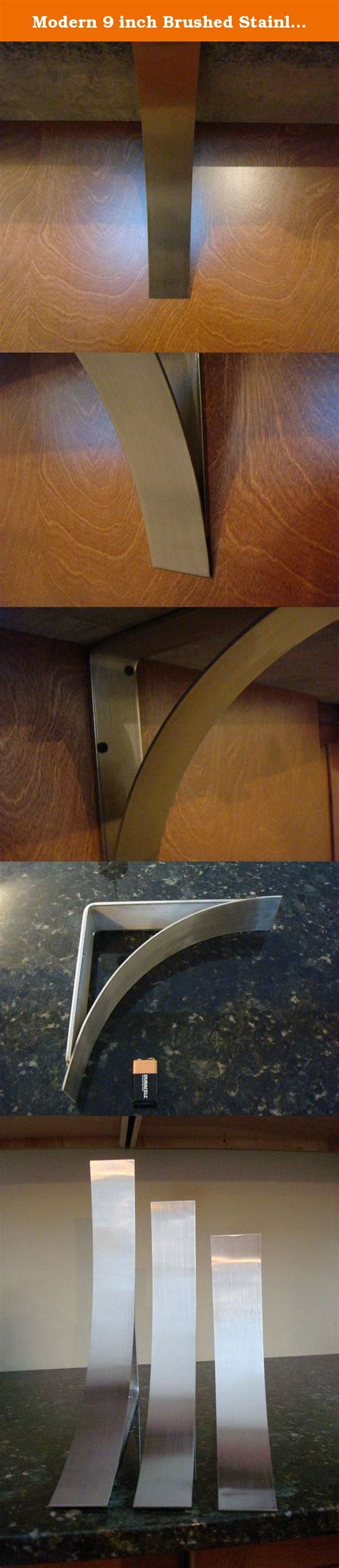 Modern Corbels For Granite Countertops by Modern 9 Inch Brushed Stainless Steel Counter Top Corbel