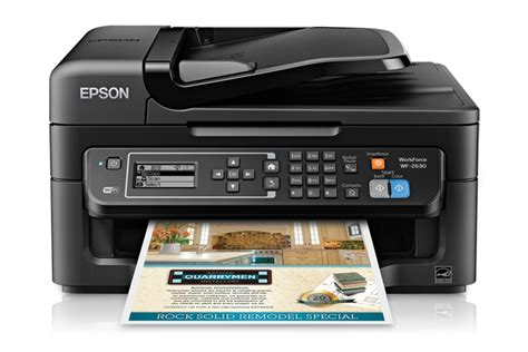 Printer Epson Adf epson workforce wf 2630wf wireless all in one inkjet printer print copy scan fax adf