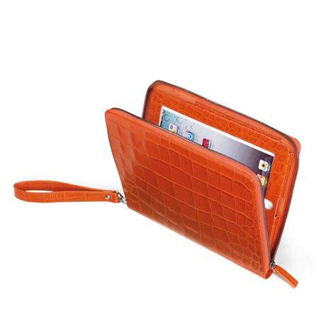 P Da Croco fedon 1919 p croco leather folder