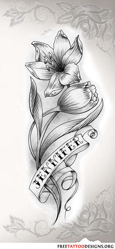 tattoo flower and name flower tattoo gallery 70 flower designs