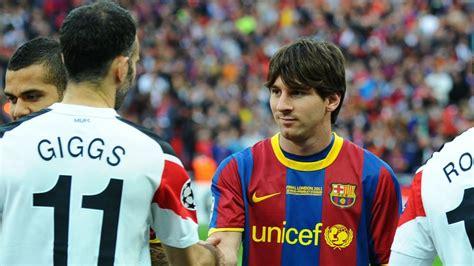 messi  barcelona hero set  emulate maldini giggs