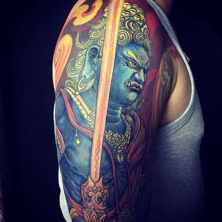 fudo myoo tattoo yang zhuo fudo tatoo ideas