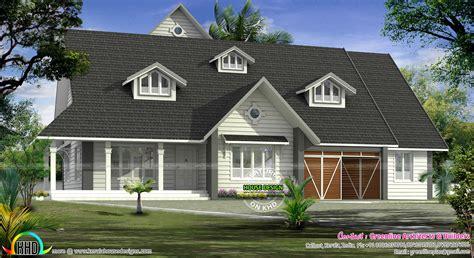 european model bungalow architecture kerala home design