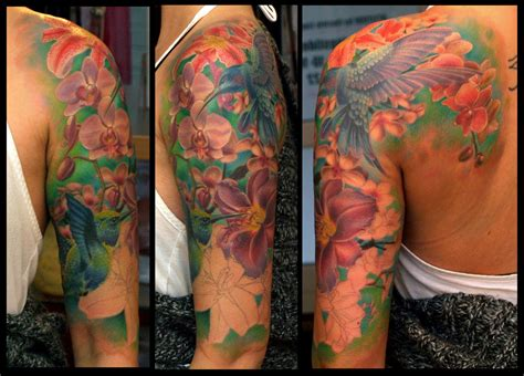 flower tattoo sleeves sleeve tattoos for tattoos