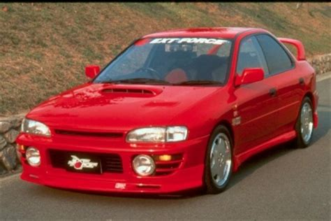 frontlip for subaru impreza 1994 1998 avb sports car tuning spare parts grill for subaru impreza 1994 1998 avb sports car tuning spare parts
