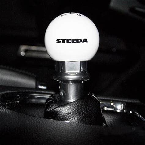Steeda Shift Knob steeda mustang shift knob white 15 17 203 e226ulsi20