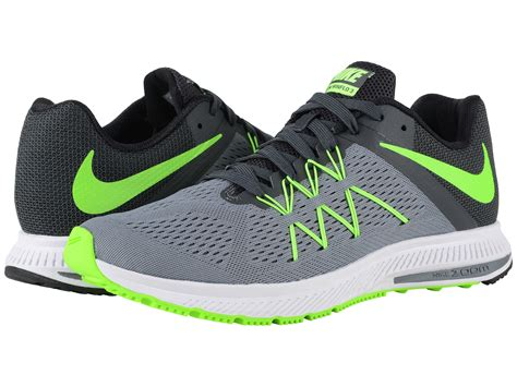 Jual Nike Winflo 4 nike zoom winflo 3 cool grey anthracite black electric green zappos free shipping both ways