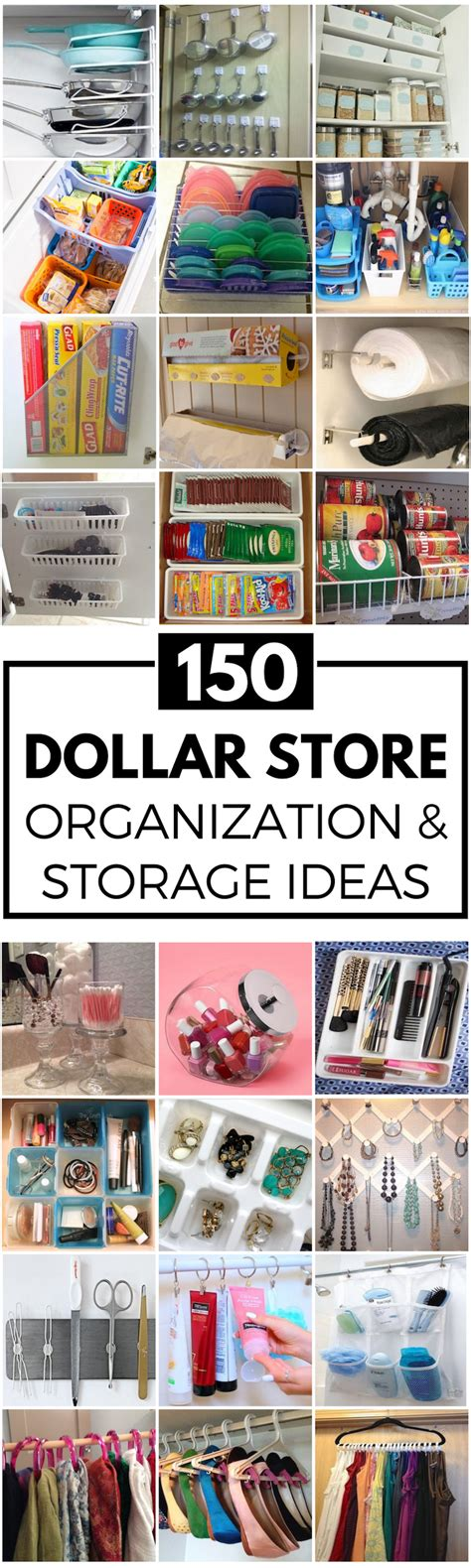 dollar store organization 150 diy dollar store organization and storage ideas