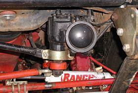 jeep cing gear rockcrawler com big offroad cj steering box bracket