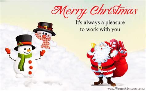 merry christmas message  boss  employees