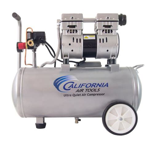 california air tools 8 0 gal 1 0 hp ultra and free electric air compressor 8010 the