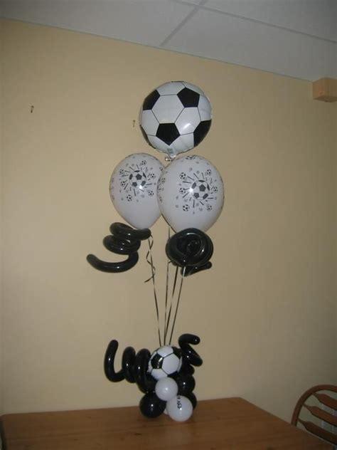 elegant balloons llc centro de mesa futbol centros de