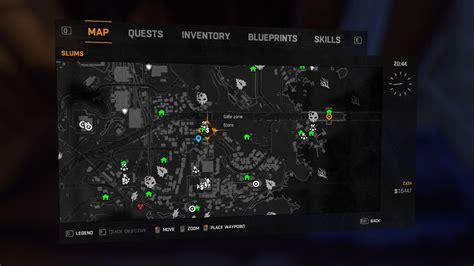 slums locations dying light quarantine zone map slums