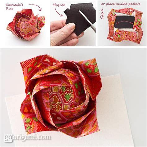 Single Sheet Origami Flower - origami kawasaki by toshikazu kawasaki go origami