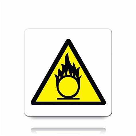 Etiketten Zeichen by Buy Oxidising Symbol Labels Danger Warning Stickers