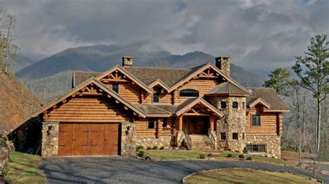 homes in the mountains the highest density of log cabins in the cities countries