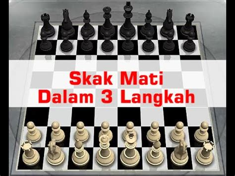 Langkah Cerdas Menang Bermain Catur cara menang cepat permainan catur