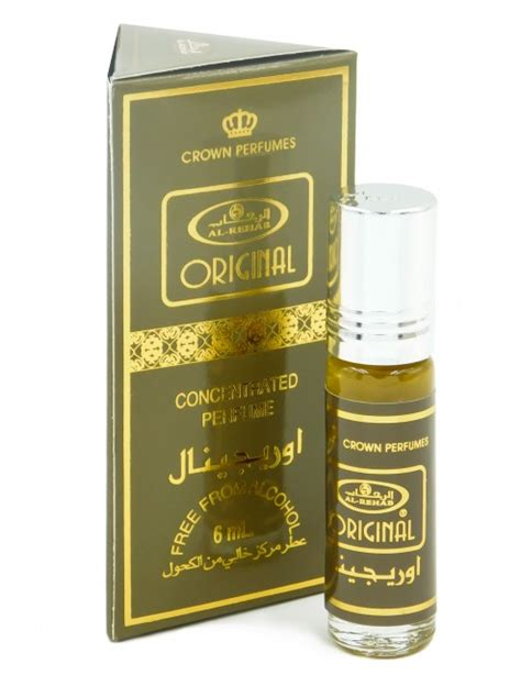 Original Parfum Al Rehab 6ml Roll On Non Alkohol al rehab original 6ml esenta de parfum
