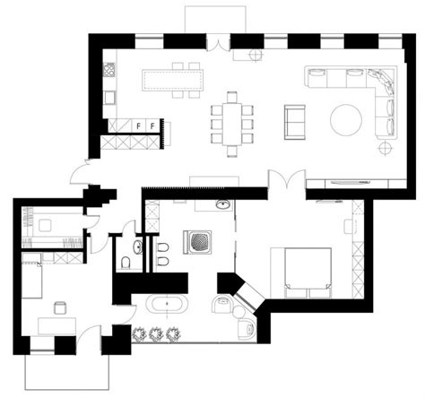 warehouse loft apartment floor plans