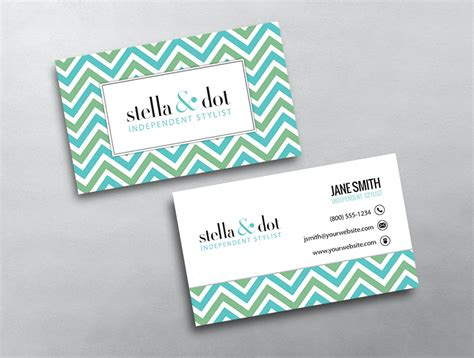 Stella And Dot Business Card Template by Stella Dot Business Card 03