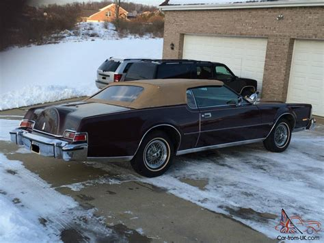 1974 lincoln continental iv convertible