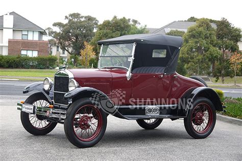 ford model sold ford model t roadster auctions lot 24 shannons