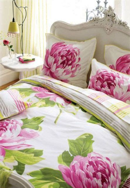 pink peonies bedroom 31 beautiful and romantic floral bedding sets digsdigs