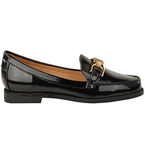 New Basket List Biru Low loafers brogues low heel shoes womens school formal