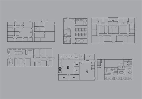 office layout planner download office floor plan vector pack download free vector art